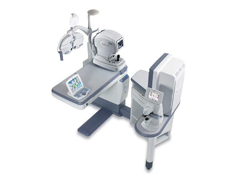 workstation optometrica Nidek cos 5100