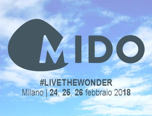 MIDO 2018, ci siamo! 24, 25, 26 febbraio 2018 – Fiera Milano Rho