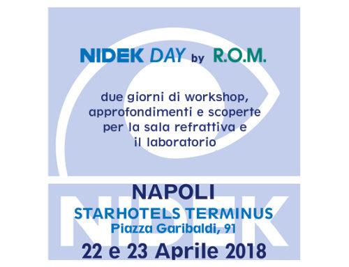 NIDEK Day a Napoli – 22 e 23 Aprile 2018