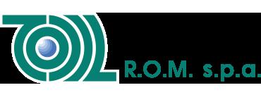 R.O.M. SPA – Distributore esclusivo per Italia e RSM dei prodotti NIDEK CO. LTD. – Japan per centri ottici. Logo