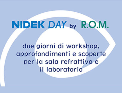 NIDEK Day by R.O.M. –  FIRENZE, 10 e 11 novembre 2019