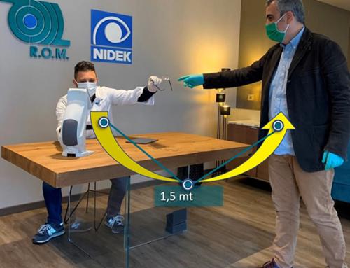 Covid19: la soluzione NIDEK per una nuova buona pratica nello svolgimento dello screening visivo